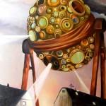 3 Wünsche habt ihr frei - Öl/Lw 100 x 60 cm 2010