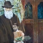 Darwins Daughter - Öl/Lw 100 x 120 cm 2009