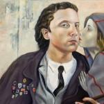 Der Kuss - Öl/Eitempera/Lw 80 x 60 cm 2011
