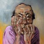 Herr Wu - Öl/Lw 50 x 50 cm 2007