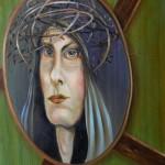 Madonna 2 - Öl/Eitempera/Lw 50 x 40 cm 2011