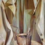 Mantel der Verschwiegenheit - Öl/Lw 100 x 80 cm 2010