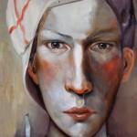 Schattenseite - Öl/Lw 30 x 30 cm 2011