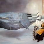 Stille Verbundenheit - Öl/Lw 200 x 140 cm 2009