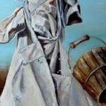 Der Zauberlehrling - Öl/Lw 40 x 120 cm 2008