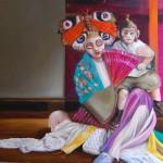 Madame Butterfly - Öl/Lw 80 x 100 cm 2012