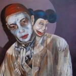 Katz und Maus - Öl/Lw 50 x 60 cm 2012