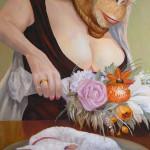 Brautgeschenk - Öl/Lw 100 x 40 cm 2013