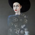 Frau Krupp mit Kaffee (Edition Ruhrgebiet)