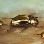 Unser Goldjunge - Öl/Lw 50 x 60 cm 2013